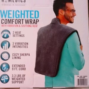 Homedics Weighted Comfort Wrap